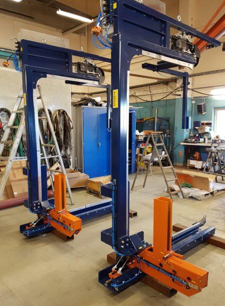 Vanteutuskoneet Goliat Puoliautomaatinen Vanteutusasema 2